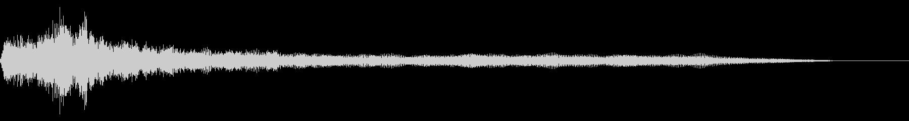 小型ドローンの未再生の波形