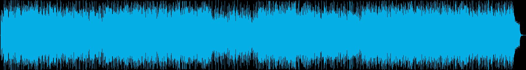 尺八の明るく元気な和風ポップの再生済みの波形