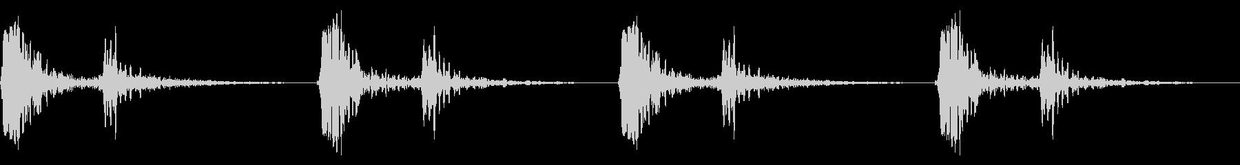 心臓音の未再生の波形