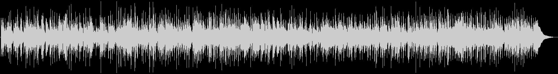ほのぼのとしたピアノのカントリーバラードの未再生の波形