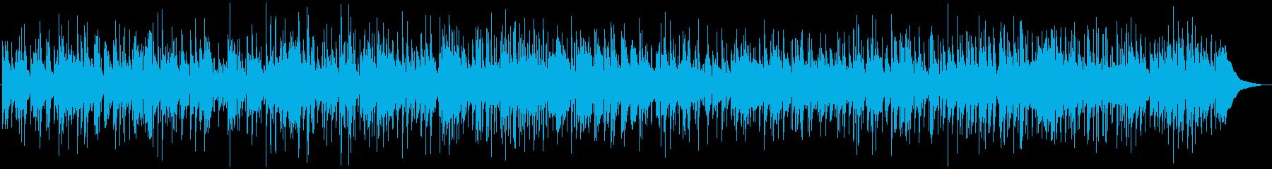 ほのぼのとしたピアノのカントリーバラードの再生済みの波形