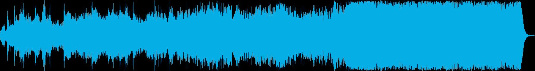 ヴァンゲリスに似たスタイルの感動的...の再生済みの波形