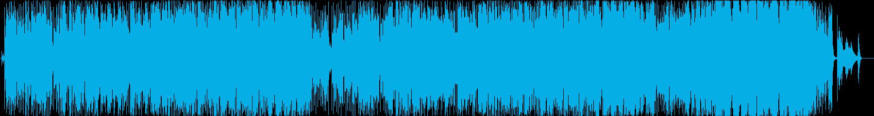 大人のバーをイメージしたオーボエジャズの再生済みの波形