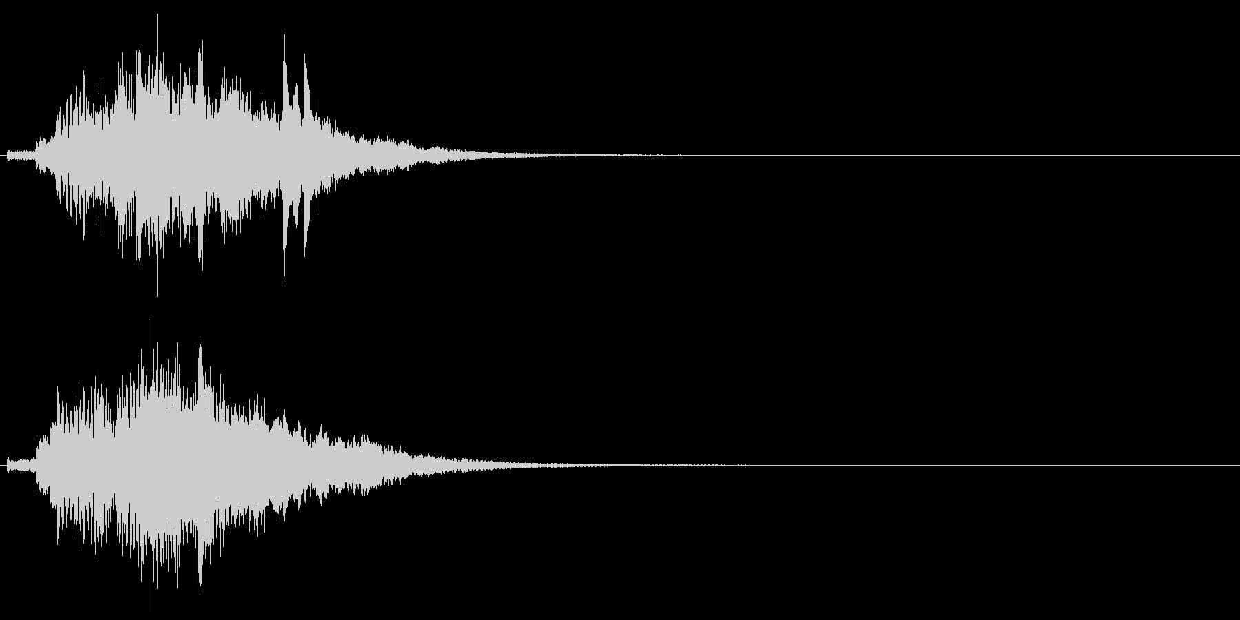 ハープ・上昇_10-1の未再生の波形