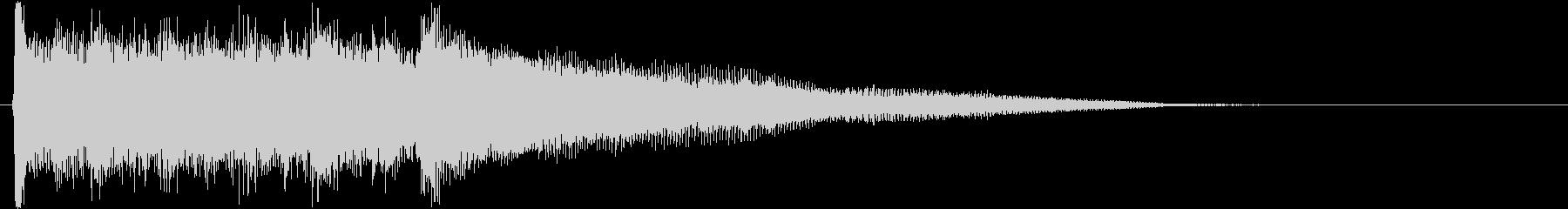ブルースロックロールギター!の未再生の波形