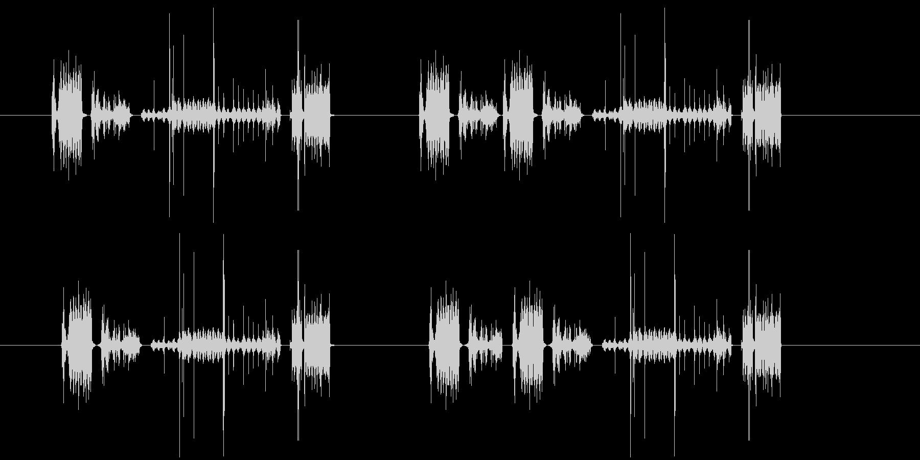 237_ノイズ音の未再生の波形
