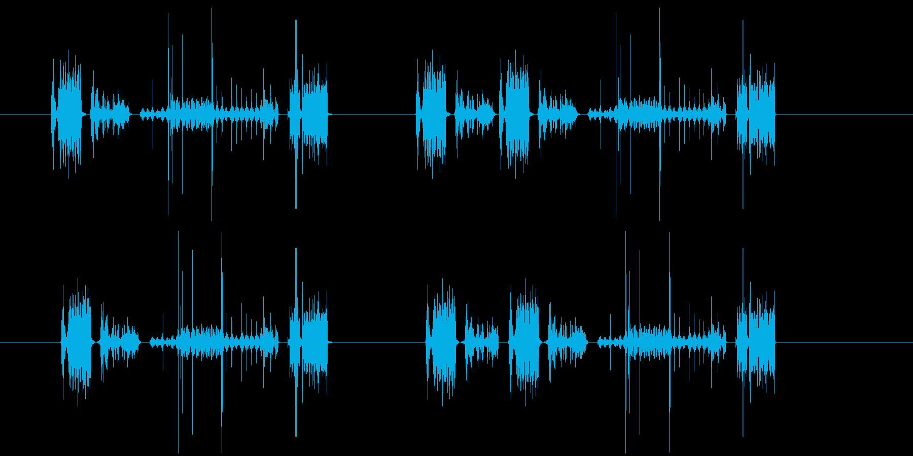 237_ノイズ音の再生済みの波形