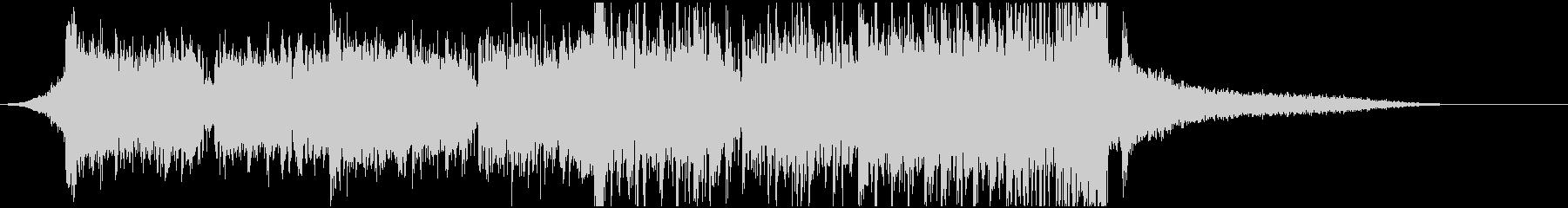 短めなドラムンベースのジングルの未再生の波形