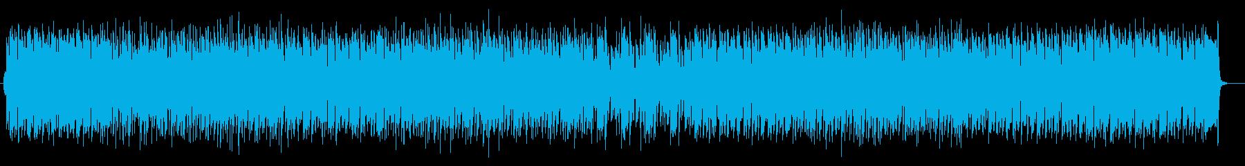 可愛らしく木琴が印象的なテクノの再生済みの波形