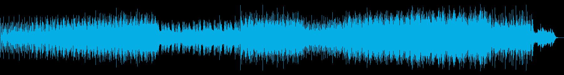 ミドルテンポの爽快なドライブテクノの再生済みの波形