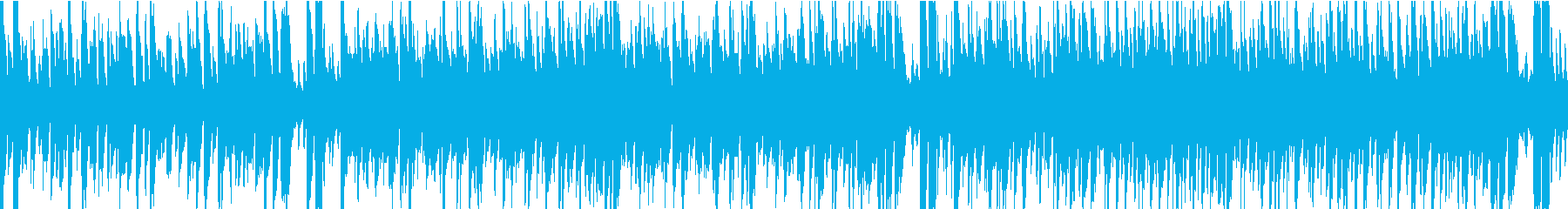 13秒でサビ、おだやか/オケループの再生済みの波形