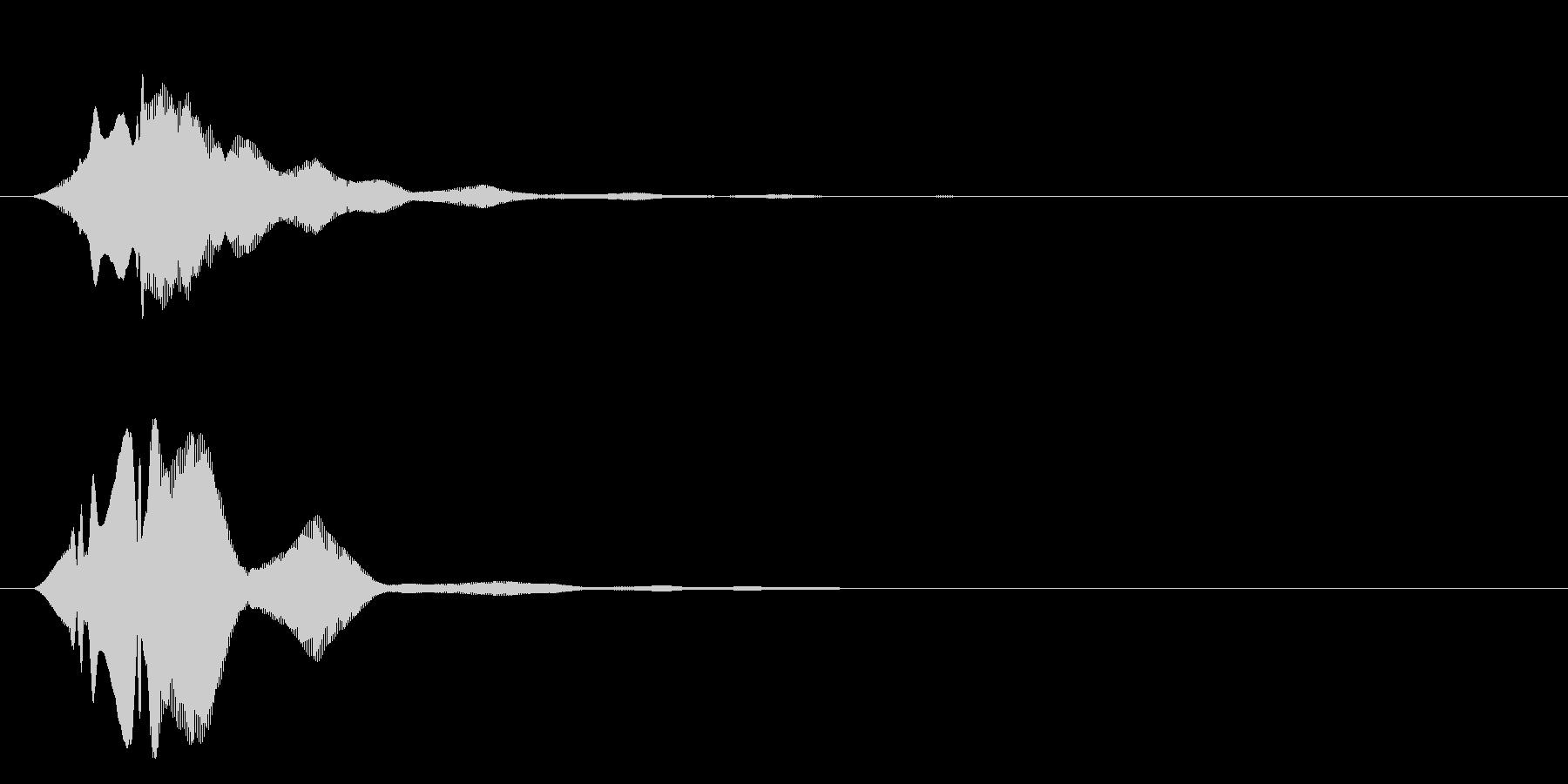 フィヨンーの未再生の波形