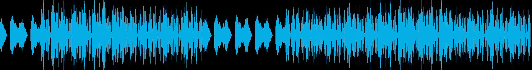 おしゃれEDMハウス・爽やか幻想的・透明の再生済みの波形
