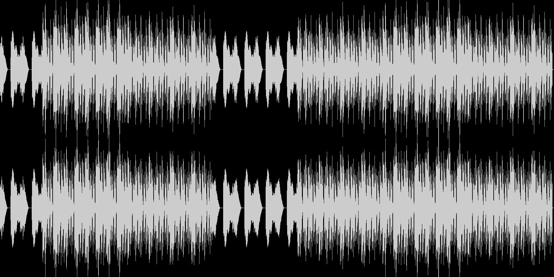 おしゃれ・低音重視・EDM・ベース18の未再生の波形