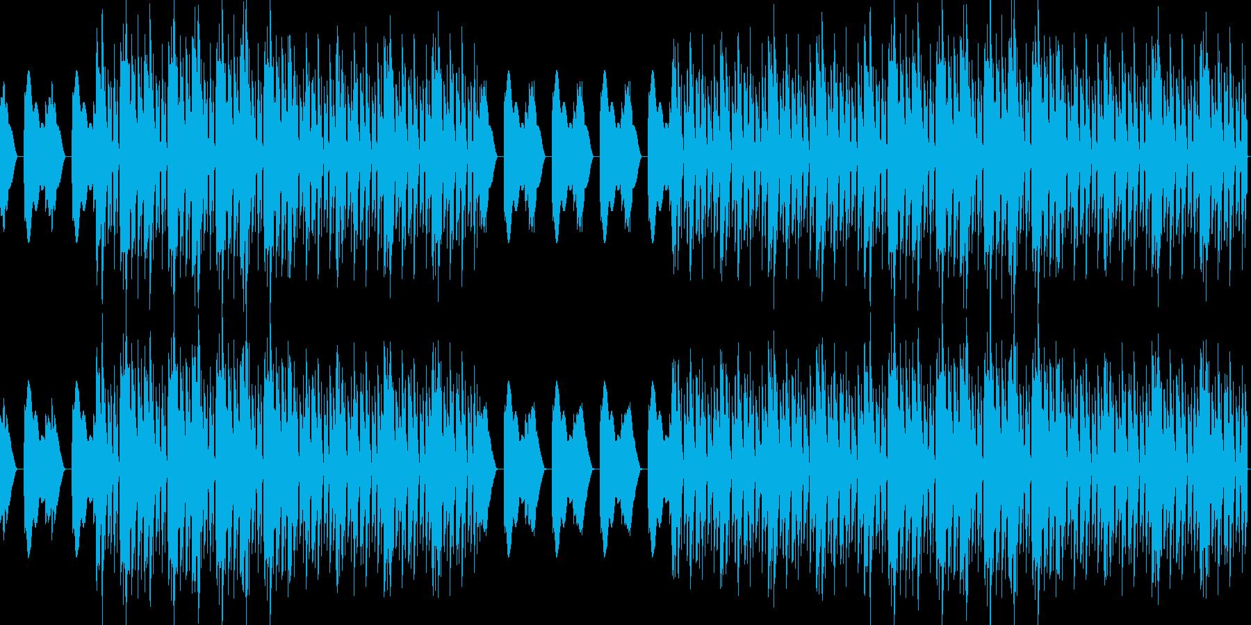 おしゃれ・低音重視・EDM・ベース18の再生済みの波形