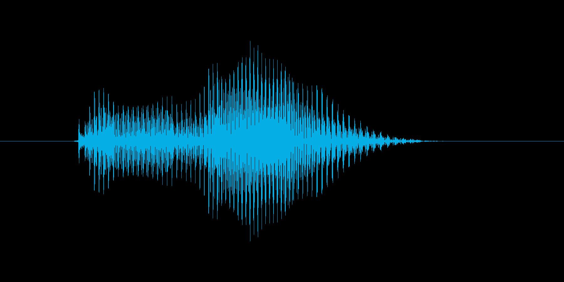 ドローの再生済みの波形
