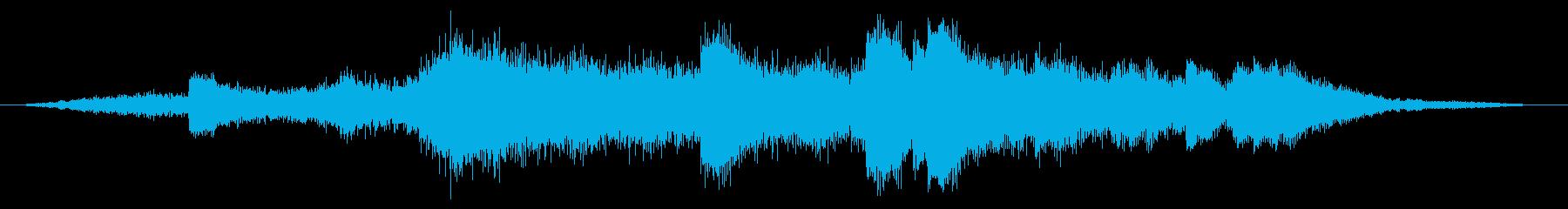 音ロゴ★水・波紋・光・幻惑★天気の子ぽいの再生済みの波形
