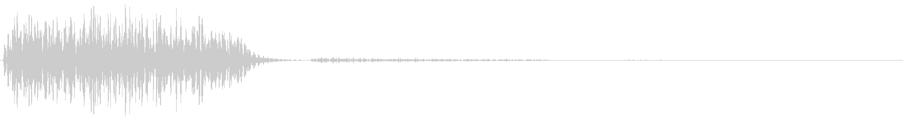 ブギューン(ダメージ・攻撃を受ける)の未再生の波形