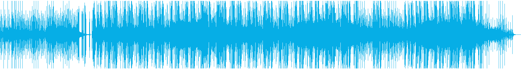 ピアノとスラップが印象的なエレクトロニカの再生済みの波形