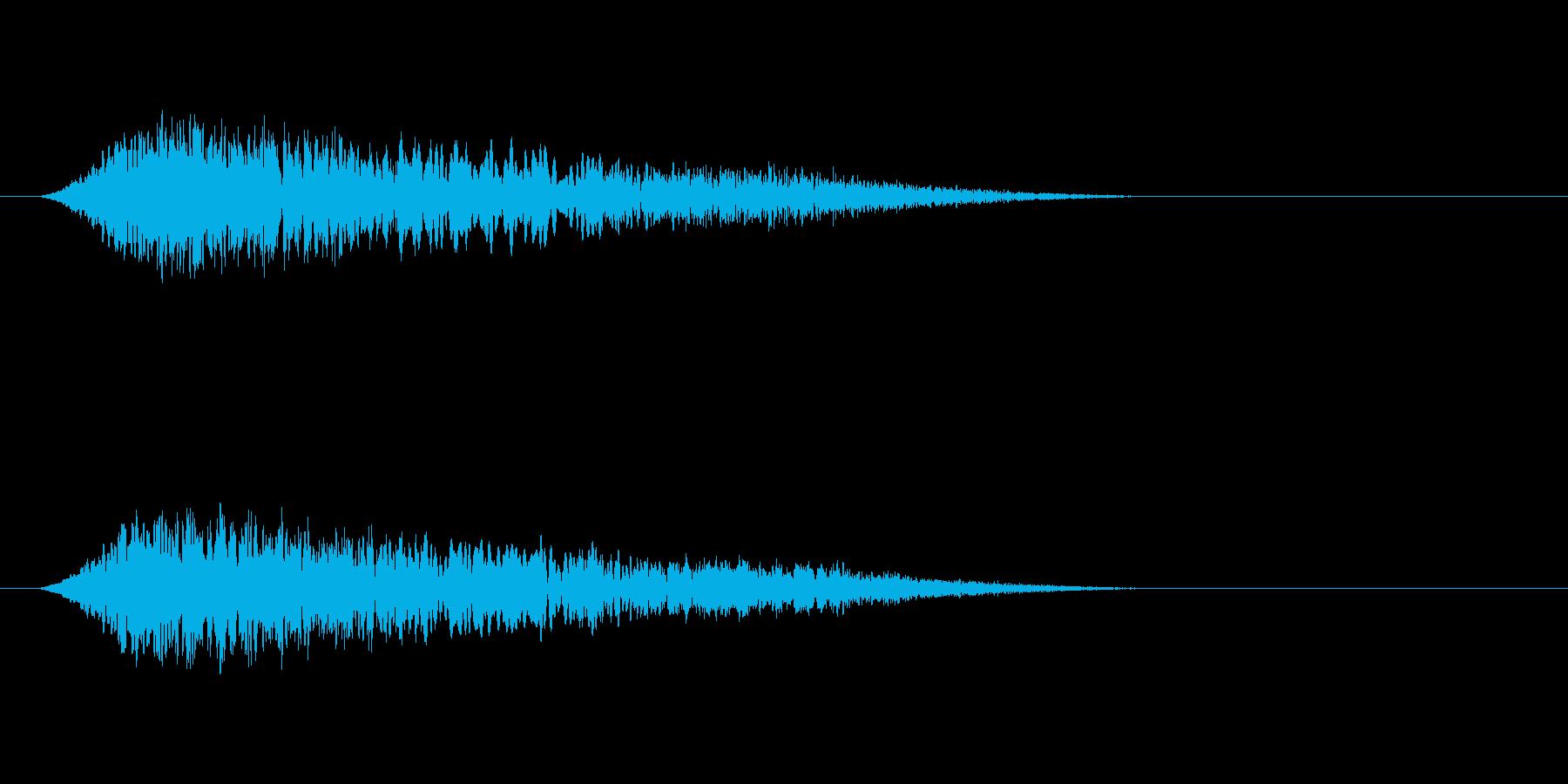 幽霊、怪談のSE その2の再生済みの波形