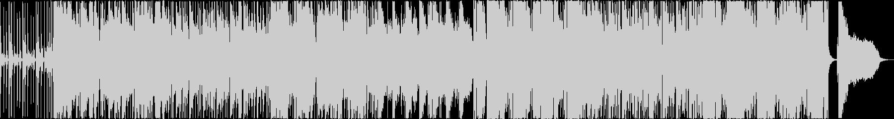モダンなサウンドのクラシックスタイルの未再生の波形