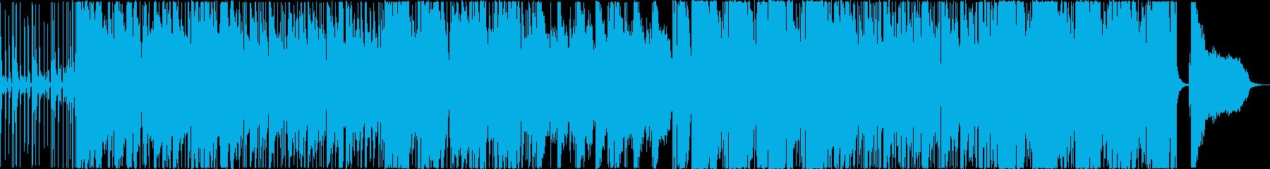 モダンなサウンドのクラシックスタイルの再生済みの波形