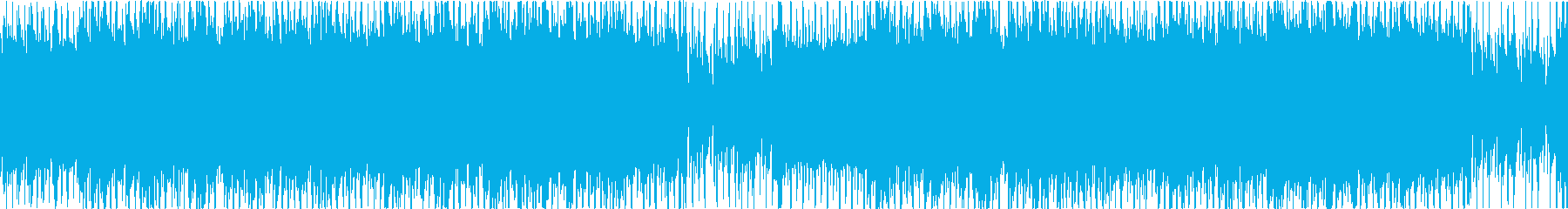 都会的でマイナー調のハウス/テクノループの再生済みの波形