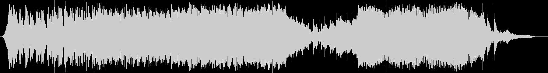 ポストアポカリプスを表現したオーケストラの未再生の波形