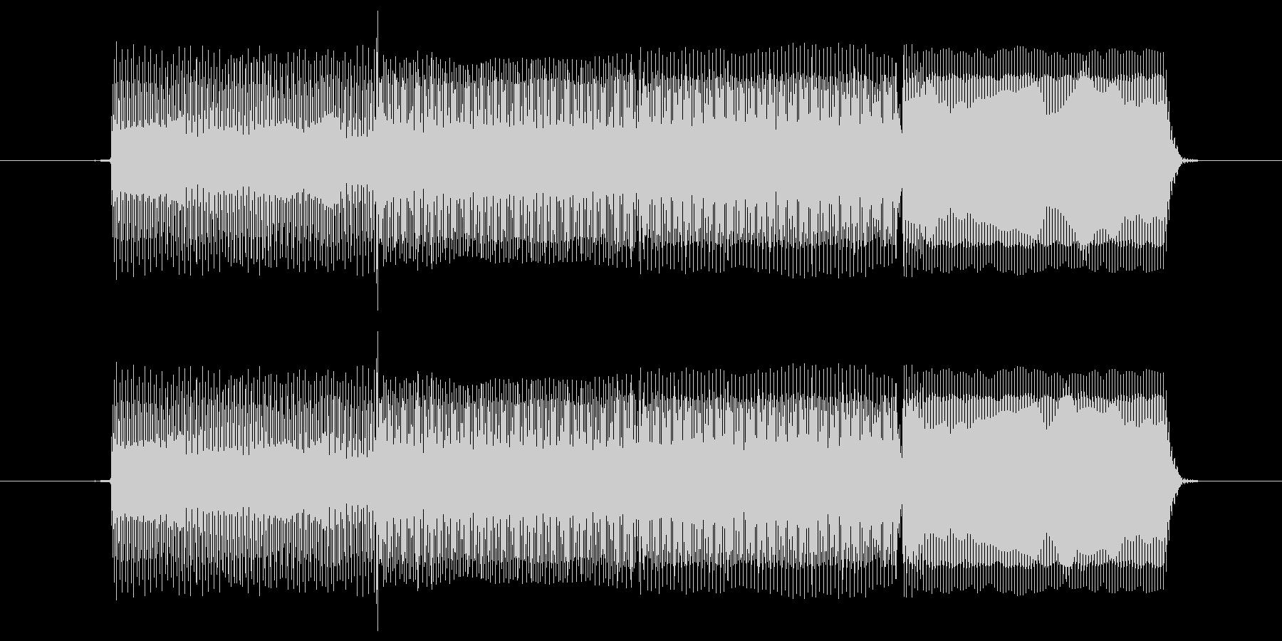 正解の時の効果音の未再生の波形