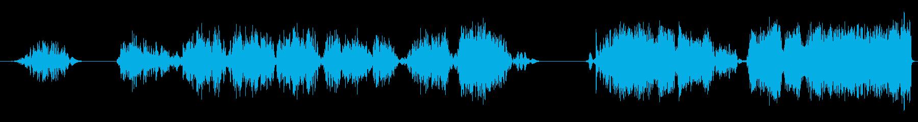 テープスクラブスワイプチャッター3の再生済みの波形