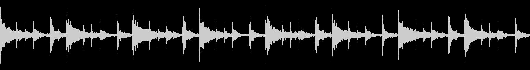 不思議な民族楽器パーカッション(ループ)の未再生の波形