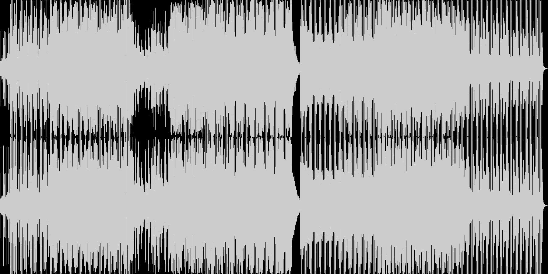 喫茶店・アパレル系のハウスミュージックの未再生の波形