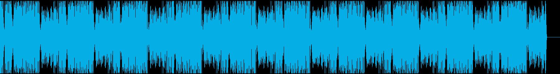 どんなシーンにも合うラグタイムピアノの再生済みの波形