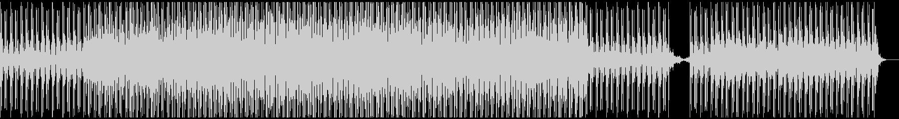 ディープなビートとクールなシンセサウンドの未再生の波形
