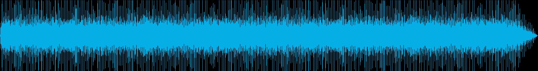 大型ファンの再生済みの波形