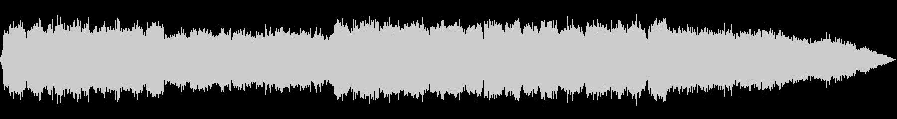 笛とシンセサイザーのヒーリング音楽の未再生の波形