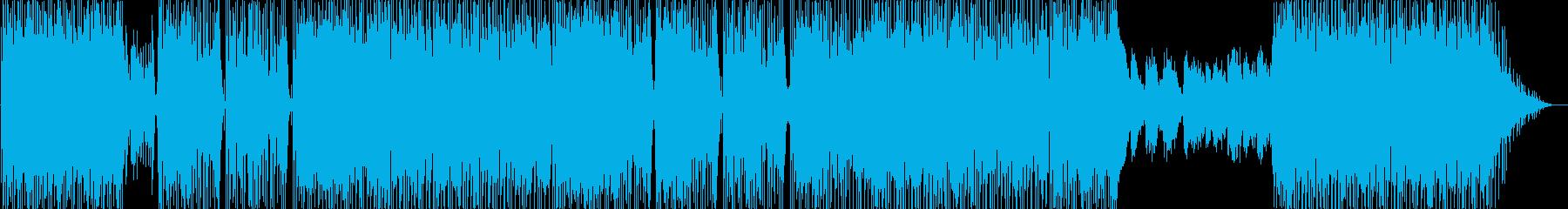 ポップロックの歌。企業:会社のビデ...の再生済みの波形