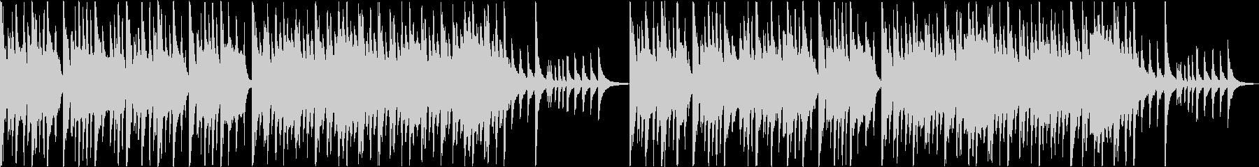 琴と尺八と太鼓によるゆったり和風BGMの未再生の波形