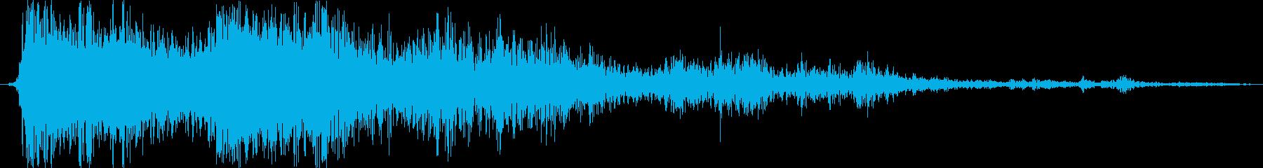 シングルヘビーサンダークラップアン...の再生済みの波形