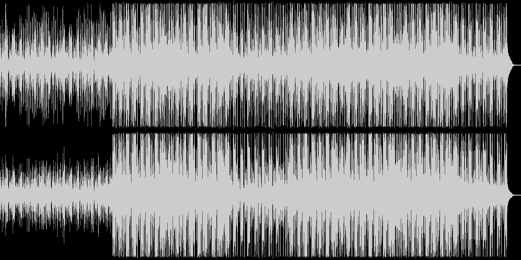 明るく軽快なアンサンブルの未再生の波形