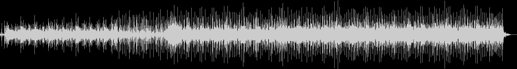パーカッション多めの壮大なシンセ曲の未再生の波形