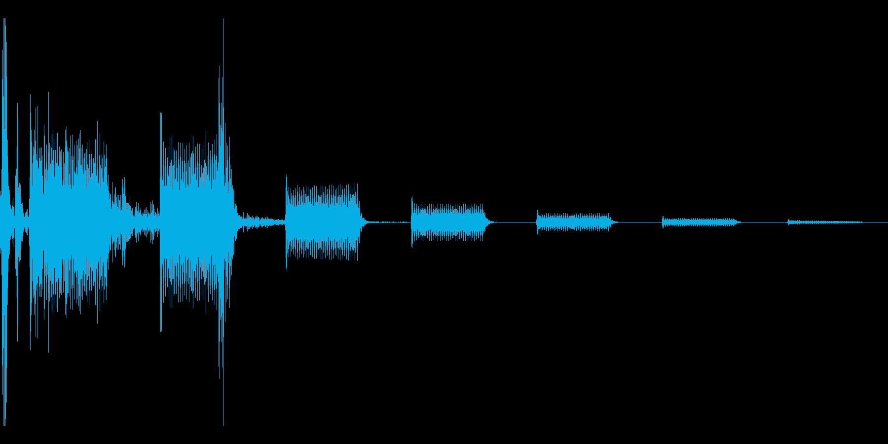 カチッピピピピッ(ターゲット選択音の再生済みの波形