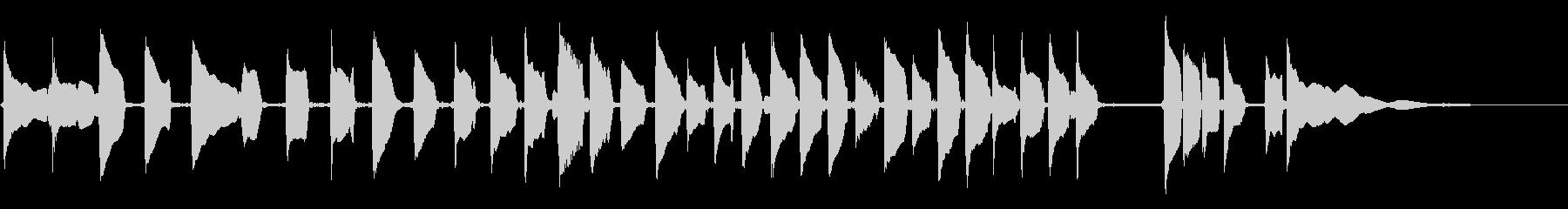 マンドリン:ロングビルチャージアク...の未再生の波形