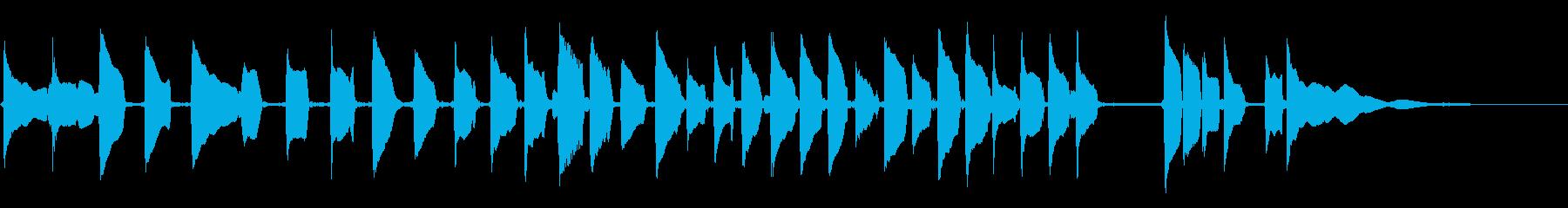 マンドリン:ロングビルチャージアク...の再生済みの波形
