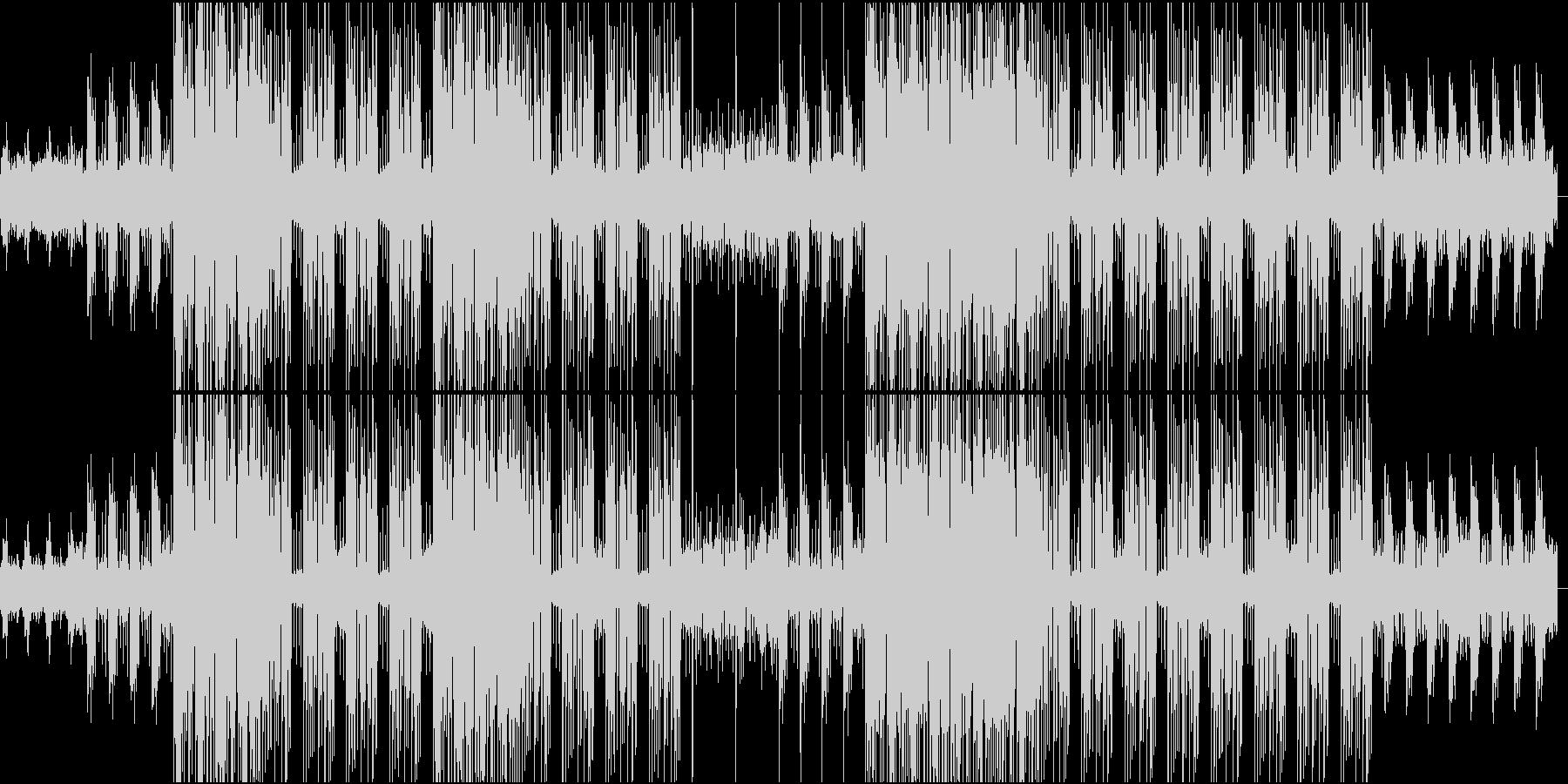 和楽器とDUB STEPの融合の未再生の波形