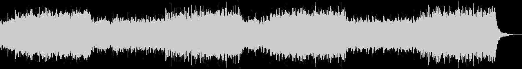 説明、解説、紹介などに適応した電子音楽の未再生の波形
