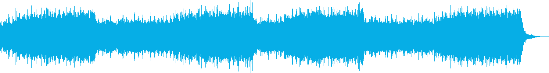 説明、解説、紹介などに適応した電子音楽の再生済みの波形