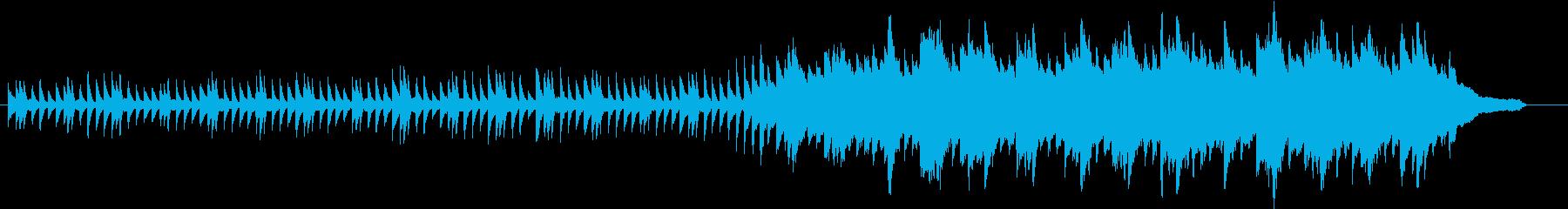 冬のイメージのピアノ03の再生済みの波形