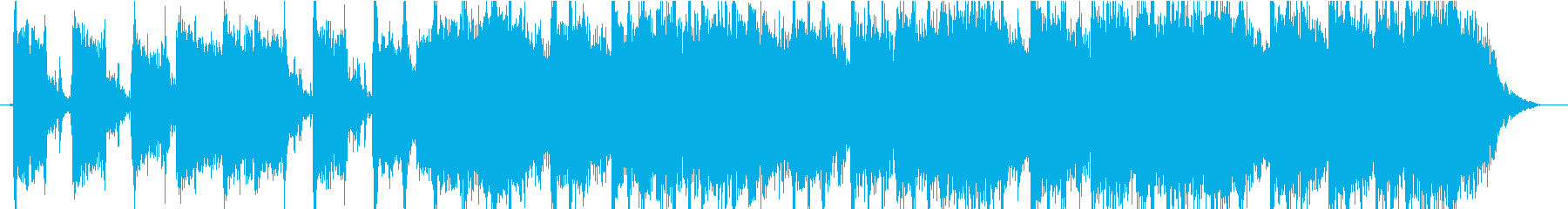 王道ロックンロールなジングルの再生済みの波形