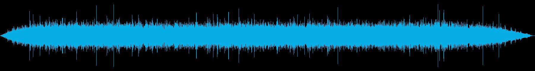 油で揚げる 長め(ジュワー+パチパチ)の再生済みの波形
